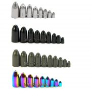Tungsten Worm Weights 4 colors